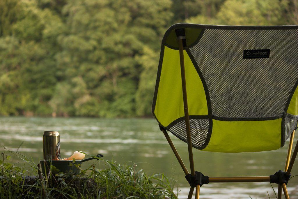 Yellowstone Ashford exécutif chaise camping pliante Vert